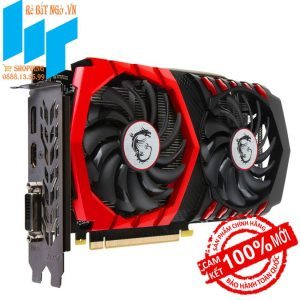 Card màn hình MSI GeForce GTX 1050Ti 4GB GDDR5 Gaming X – Mới, Full Box, BH 36T